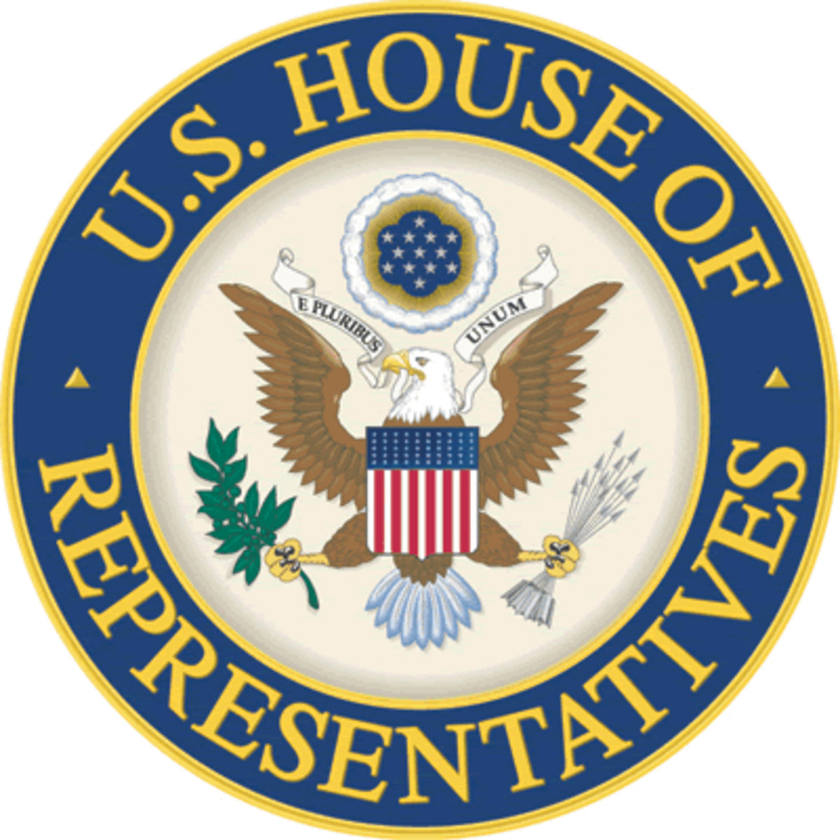 Seal of the House of Representatives.