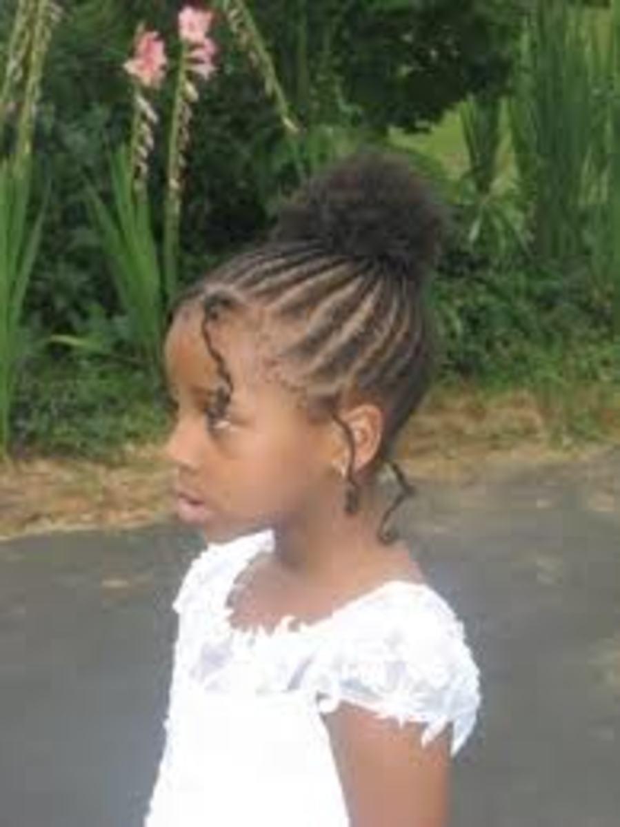 Cute Kid Hairstyles  - Cornrows