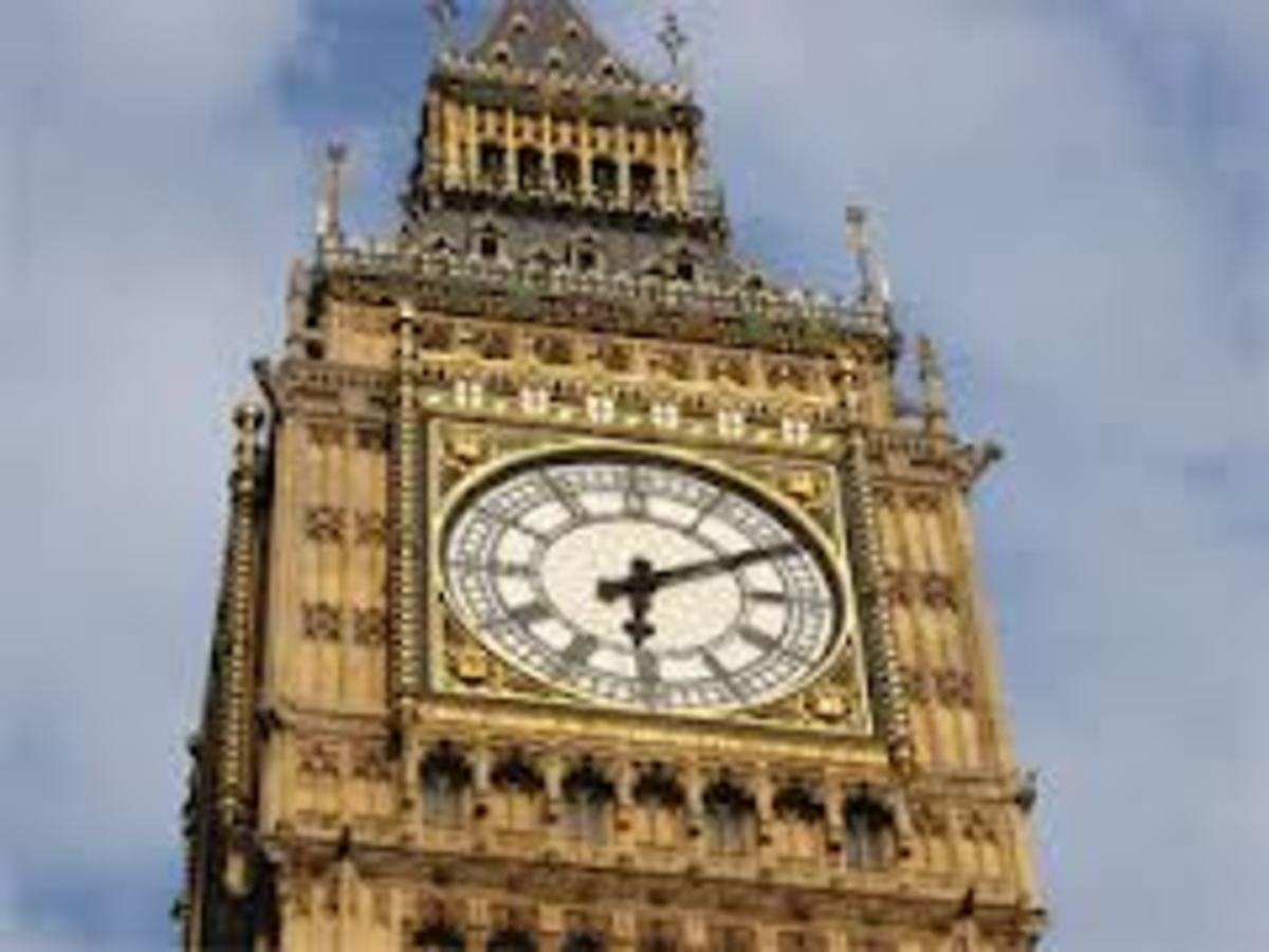 Famous time keeper Big Ben, today it seems to us a very old time keeper, but if we look and compare the eternal time, it is only a new devise that we human have invented to measure time as we understand it.