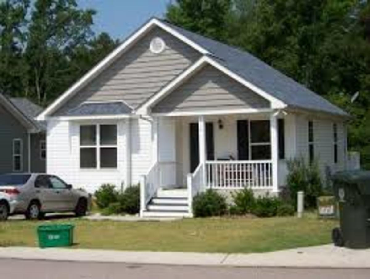 To buy a small house and well maintained house, would be better for the first home buyer than a large house, since there are lots of things to know and pay for.