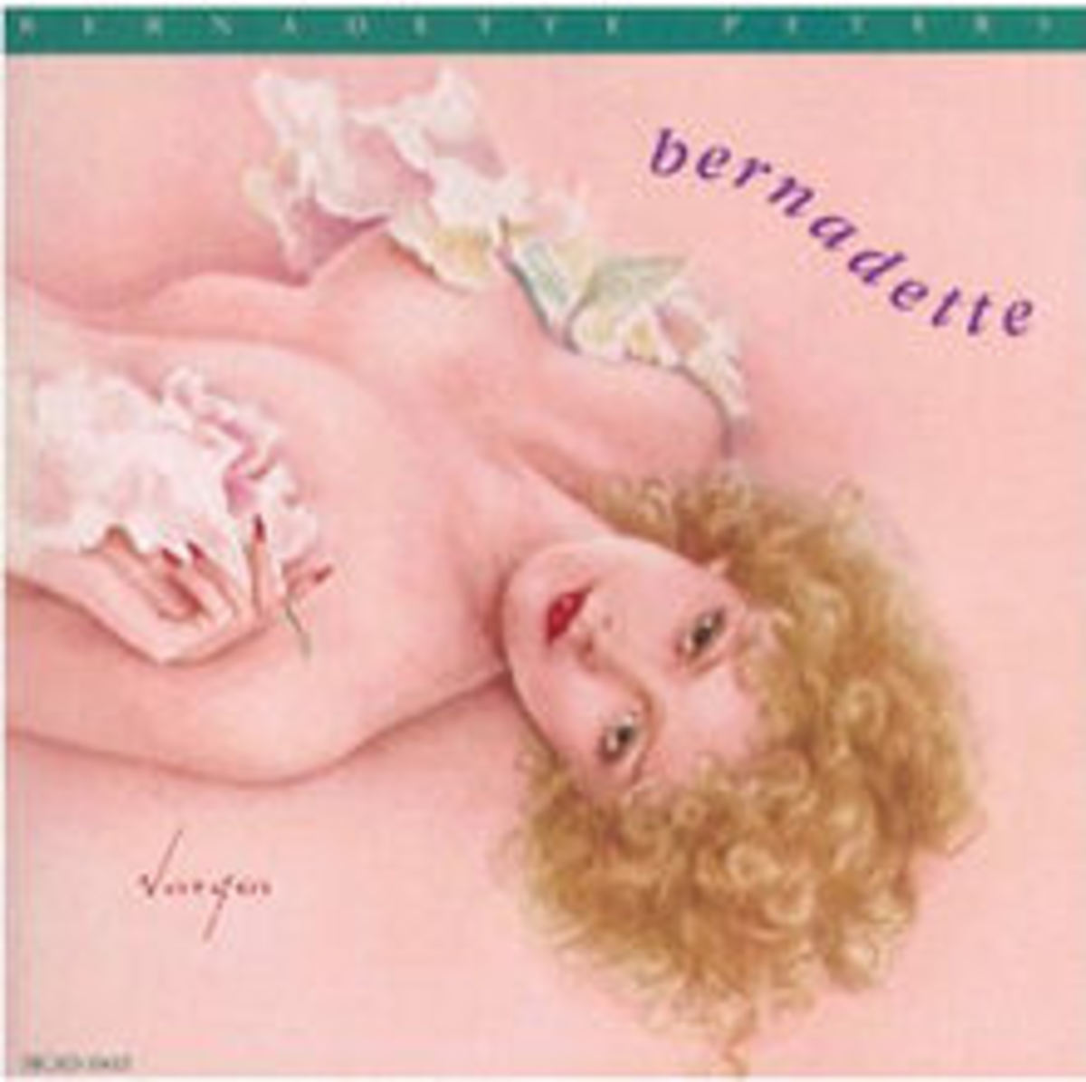Image credit: musicstack.com One of several images Vargas did when he came out of retirement after his wife died: a record cover for Bernadette Peters.