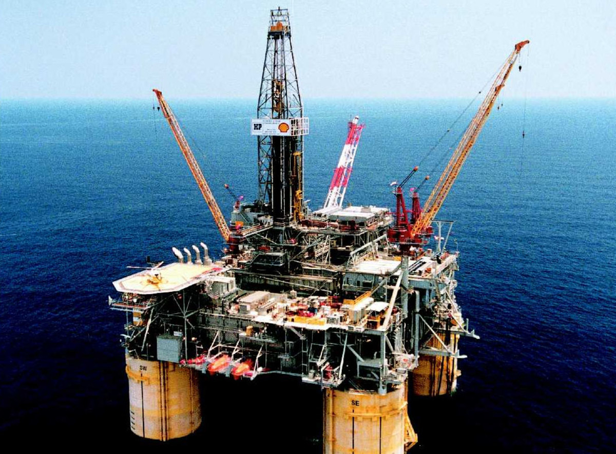 An Off Shore Oil Drilling Platform