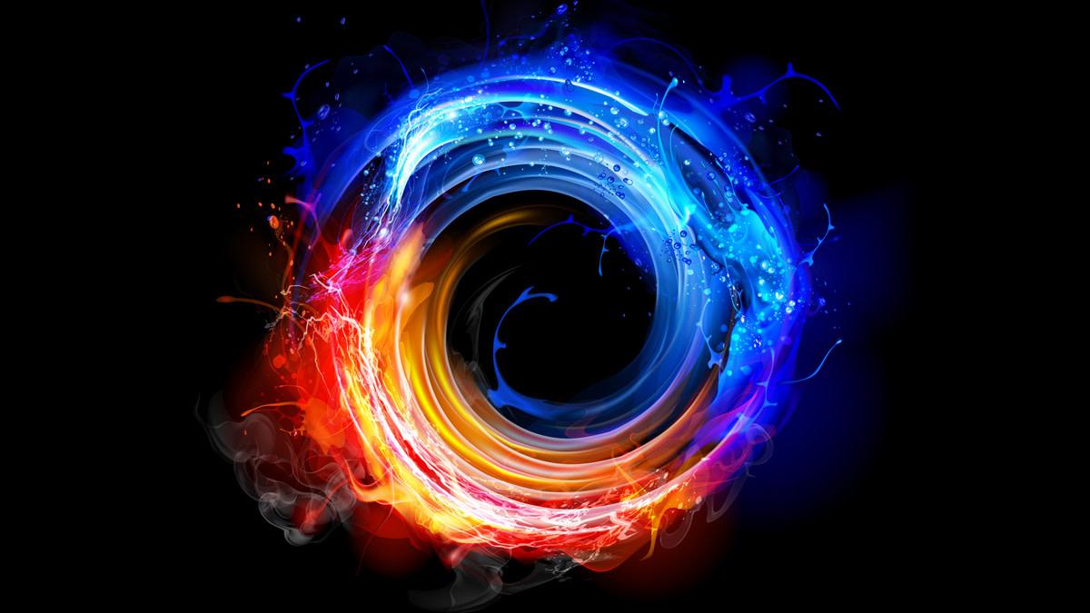 Spiritual Circle One Negative