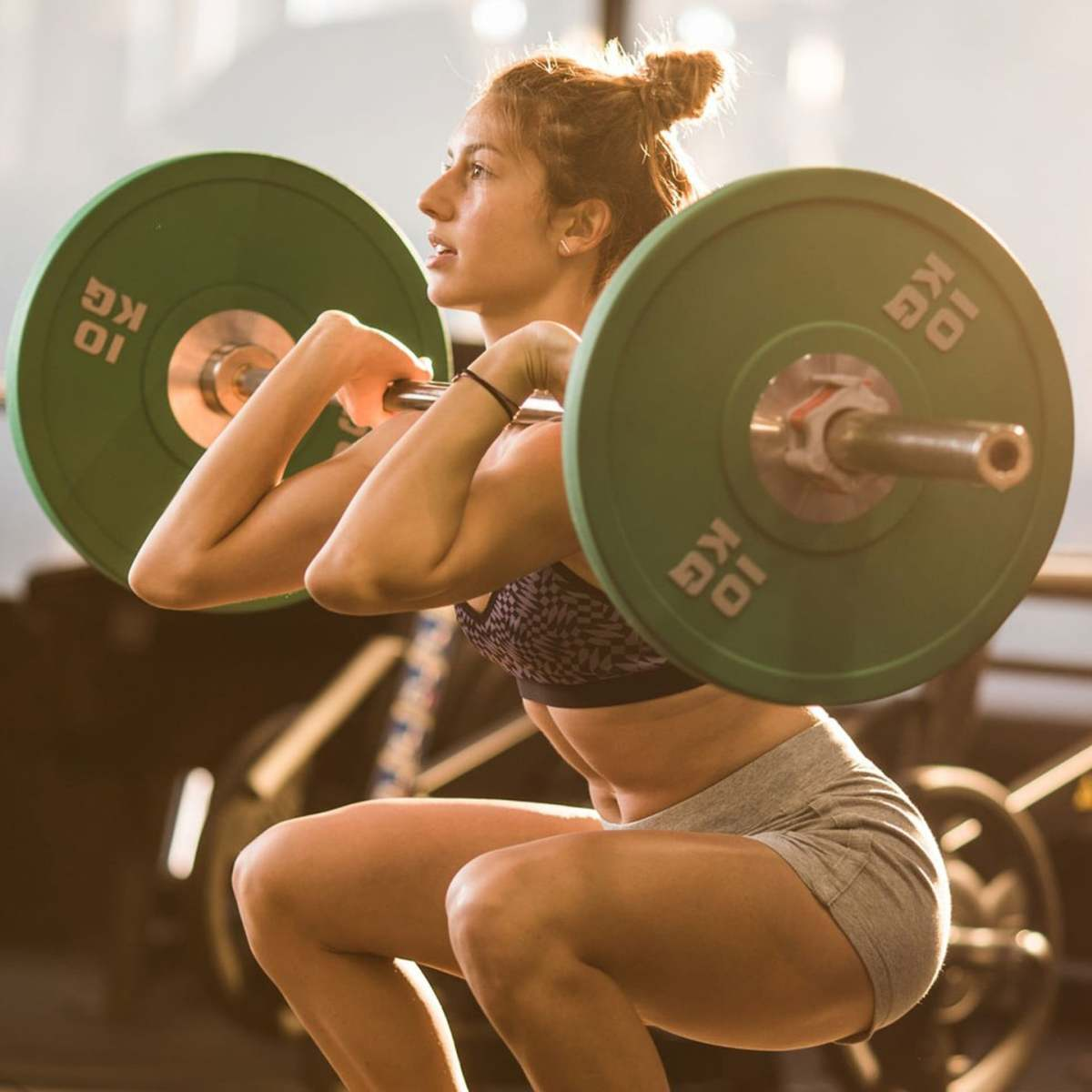 Incorporating strength lifting equipment can increase gains.