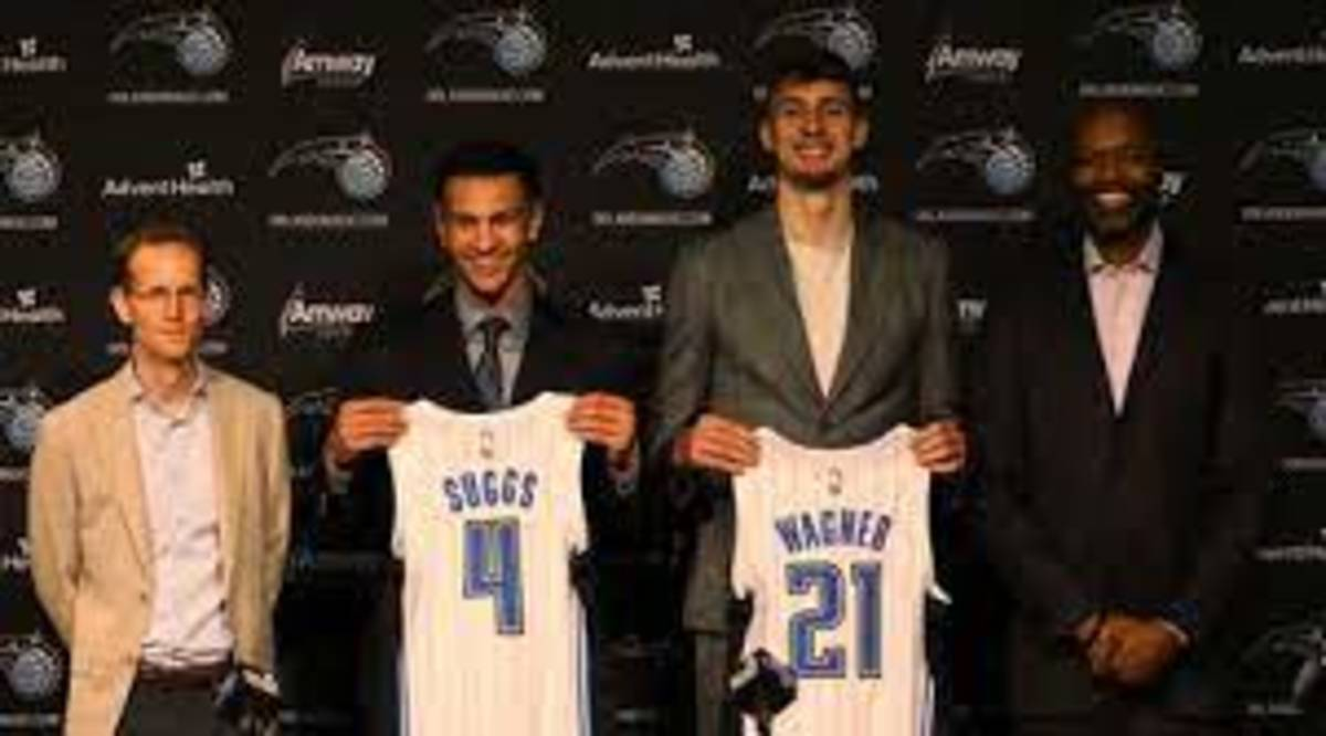 The Magic drafted Jalen Suggs and F Franz Wagner.