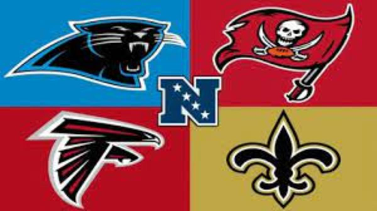 The Saints won the division but the Buccaneers won the Super Bowl.
