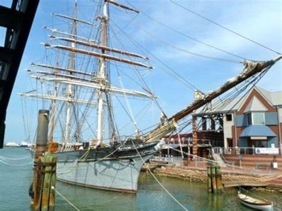 Elissa Tall Ship, Galveston TX   Tall ships, Sailing ships ...