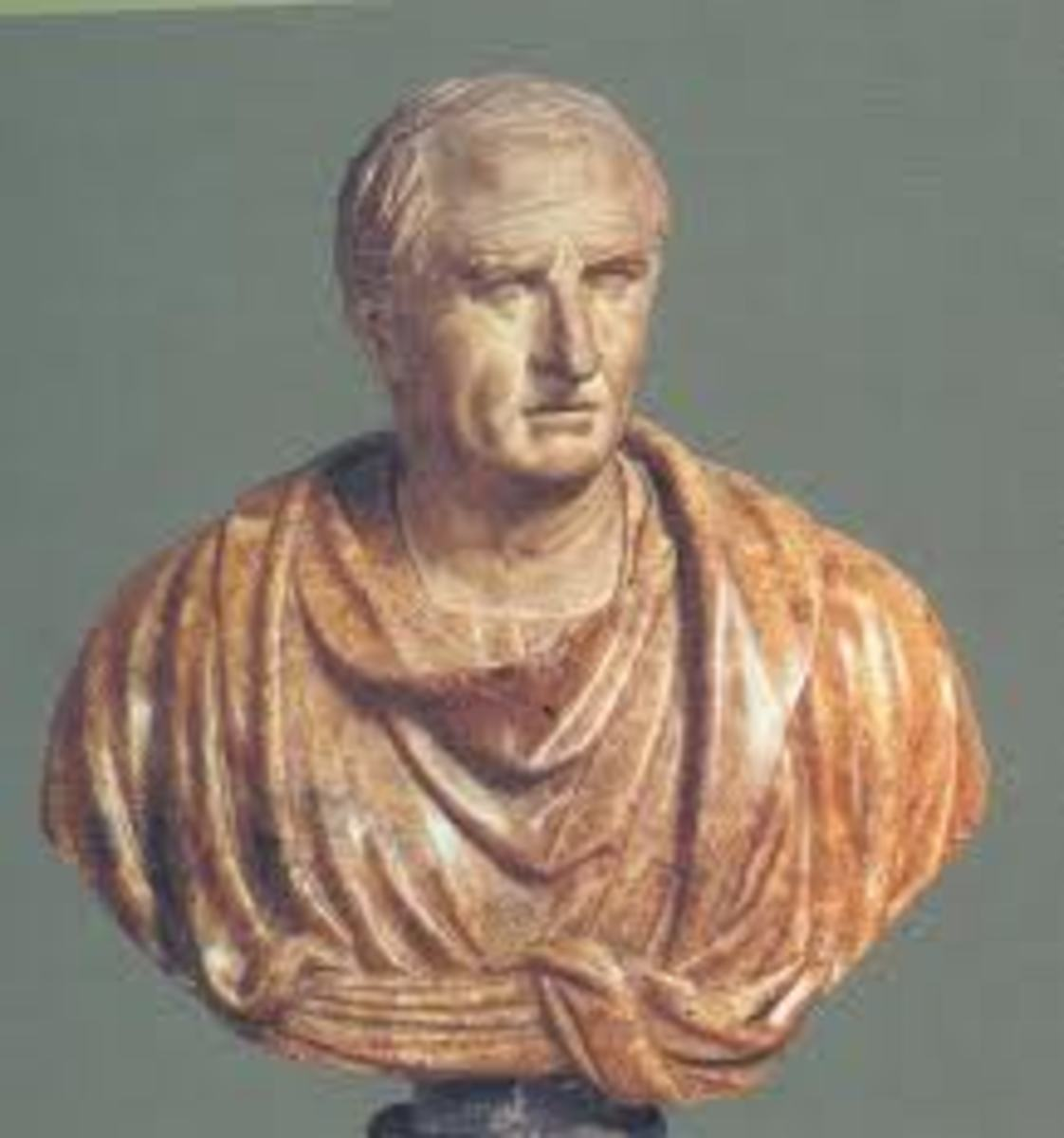 In the absence of my real photo, I have chosen Cicero portrait in my Hub Pages, after all he was one of the great ancient writers and here I am trying to be a very modest writer, so, I know that I cannot be compared to him, but let me dream writing,
