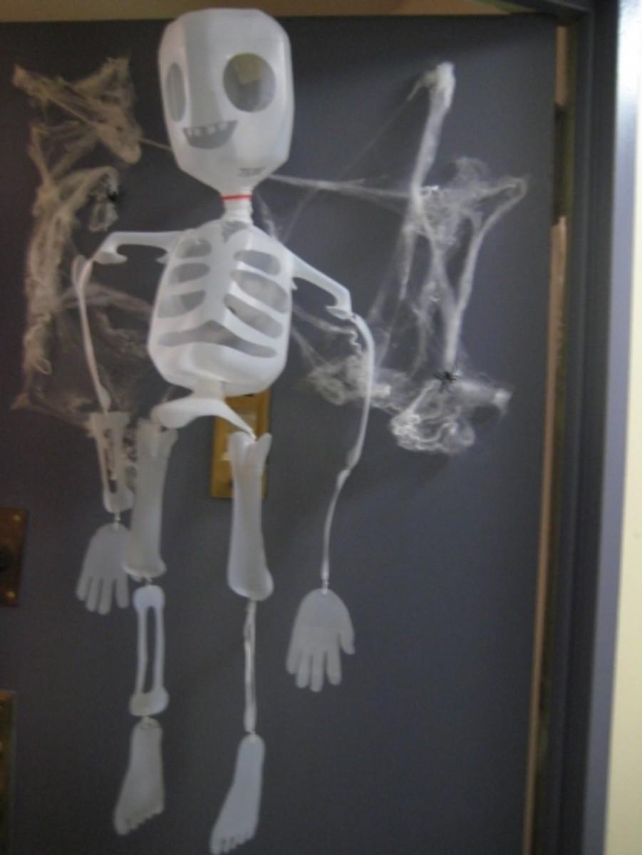 Mr.Bottle Bones the Skeleton