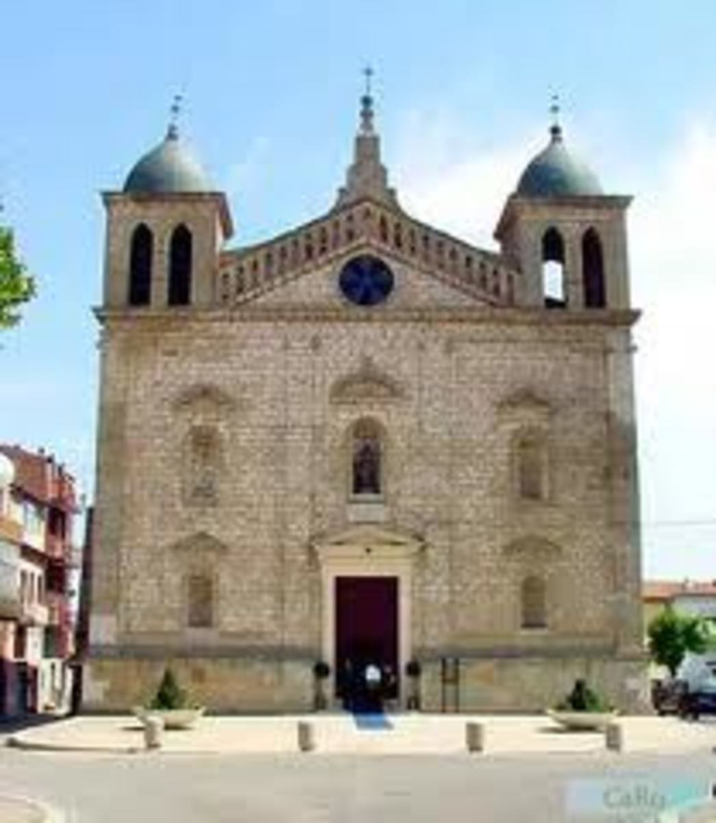 This is the church that the people of Genzano di Lucania built for their Madonna; Maria Santissima delle Grazie.