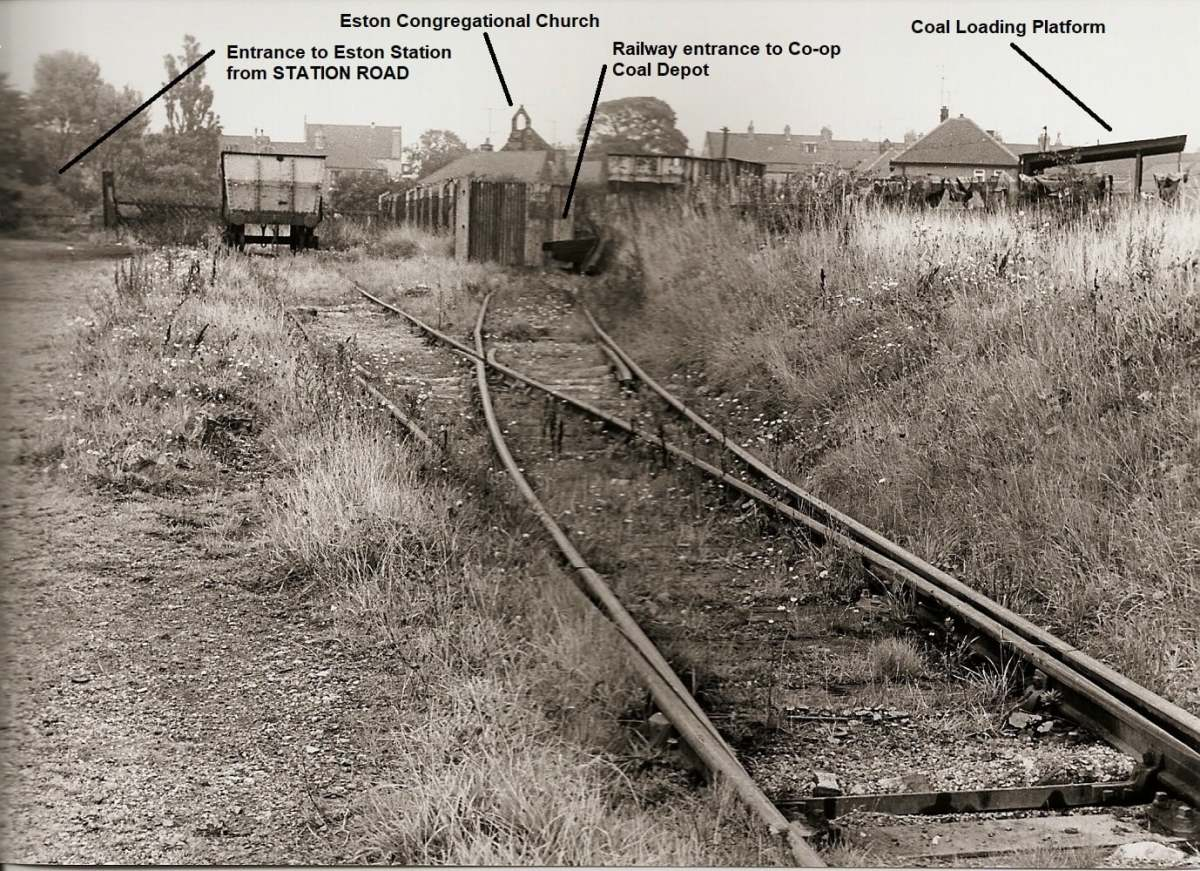... The Co-operative coal depot near the station entrance, centrally situated on the map above