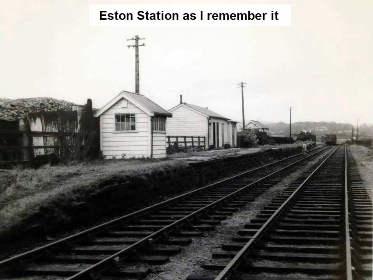 ... And how I remember it as well, long after the LNER ('London & Nearly Everywhere Railway') closed the station to passengers in 1929 six years after Grouping in 1923
