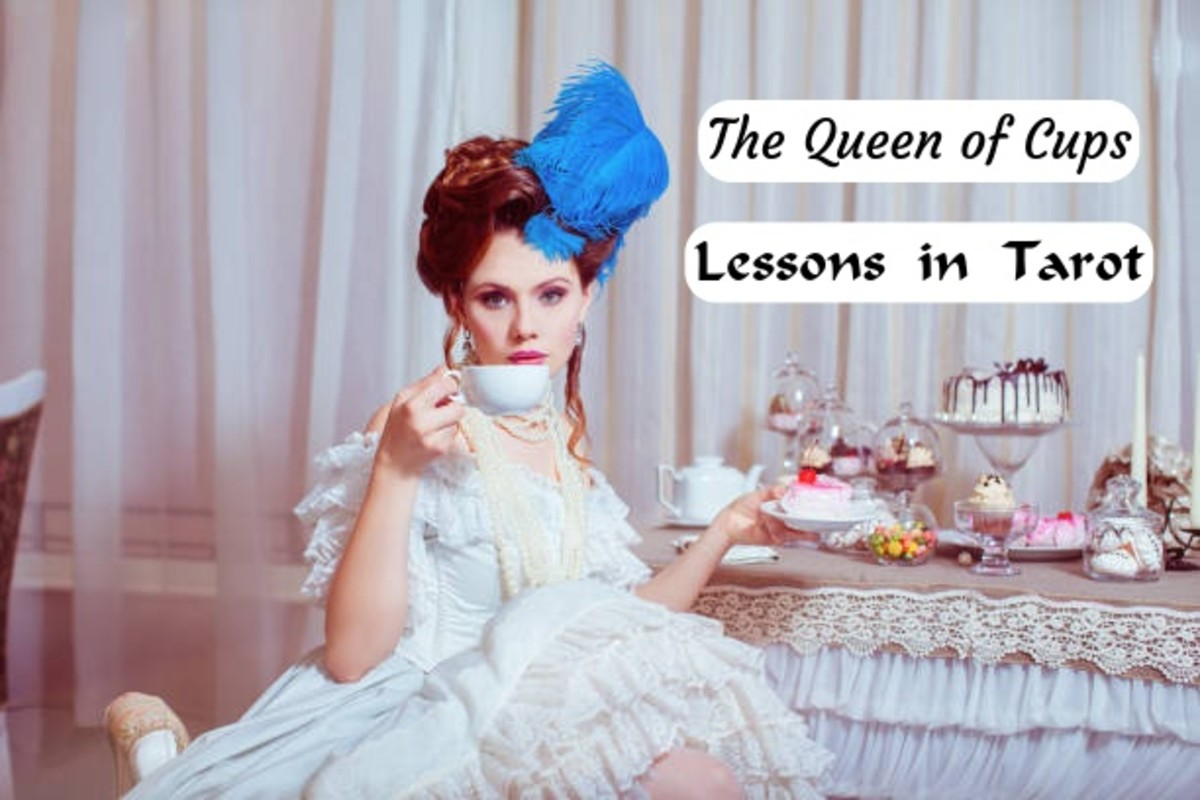 The Queen of Cups is known for her ability to foster healthy relationships, to express her emotions in a mature way, and a master of intuition. She is great at patterns, she loves with her whole heart, she is intelligent, and she is beautiful.