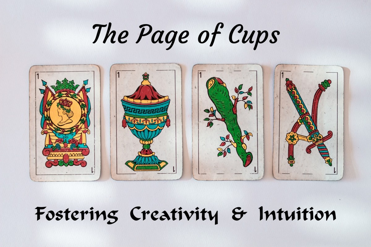 The Page of Cups is an invitation to embrace your imagination. The card is related to curiosity and developing artistic skills. The card encourages you to be in tune with your inner child. The benefits: emotional maturity and stronger relationships.