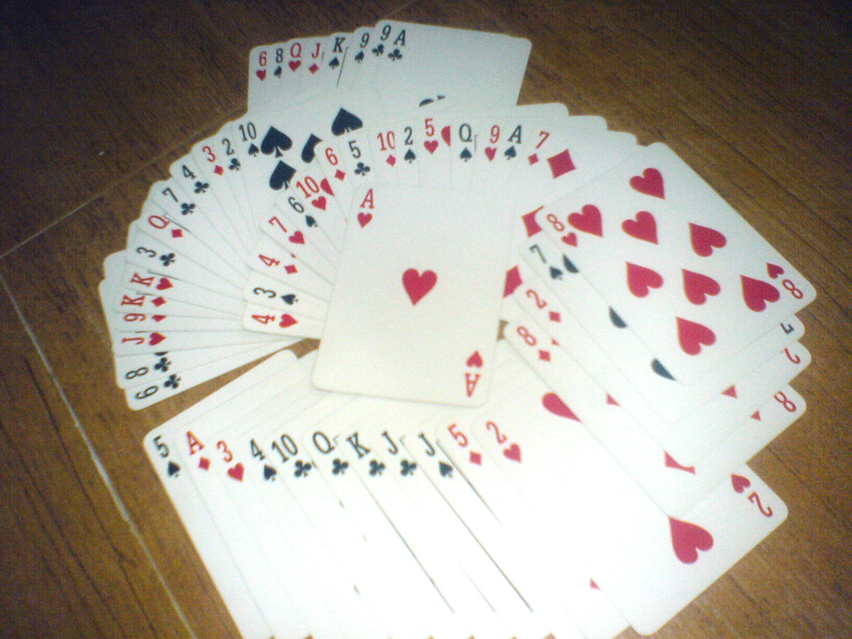Typical Anglo-American Playing Cards