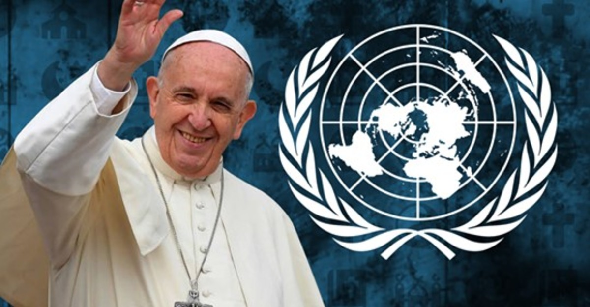 Pope Francis thinks in a modern way, he sees the need to end religious isolation, so, he goes out and tries to connect to other religions, we hope and pray that his move works out in a positive way. .