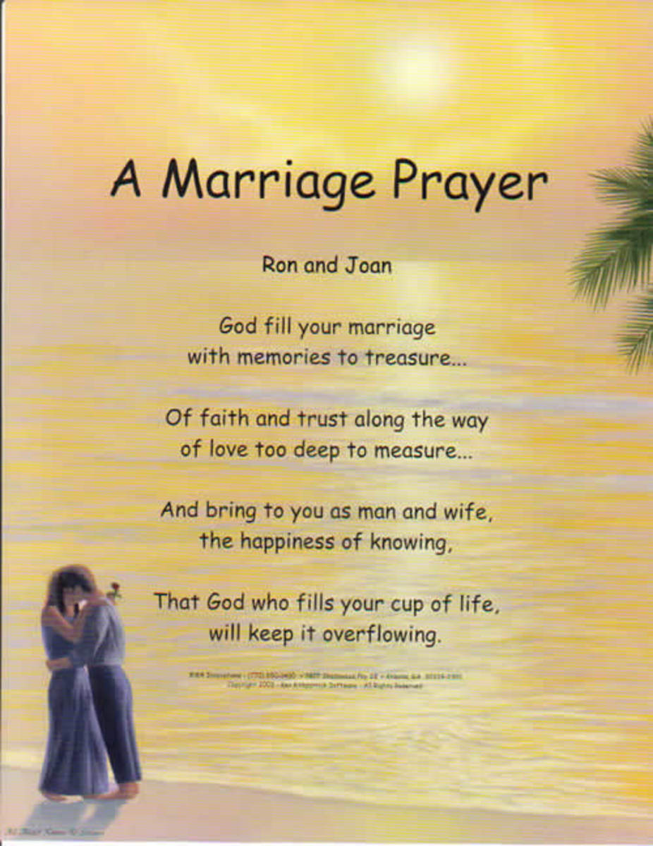 marriage love poems and principles