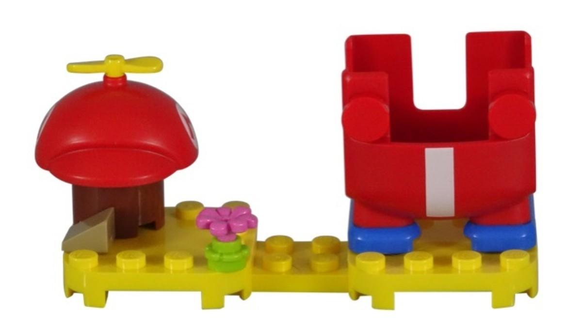 LEGO Super Mario Propeller Mario Power-Up Pack 71371 Assembled Set