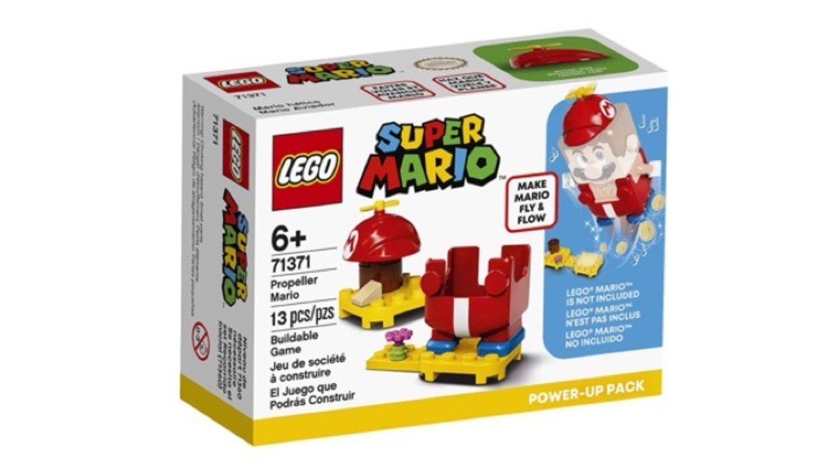 LEGO Super Mario Propeller Mario Power-Up Pack 71371 Box