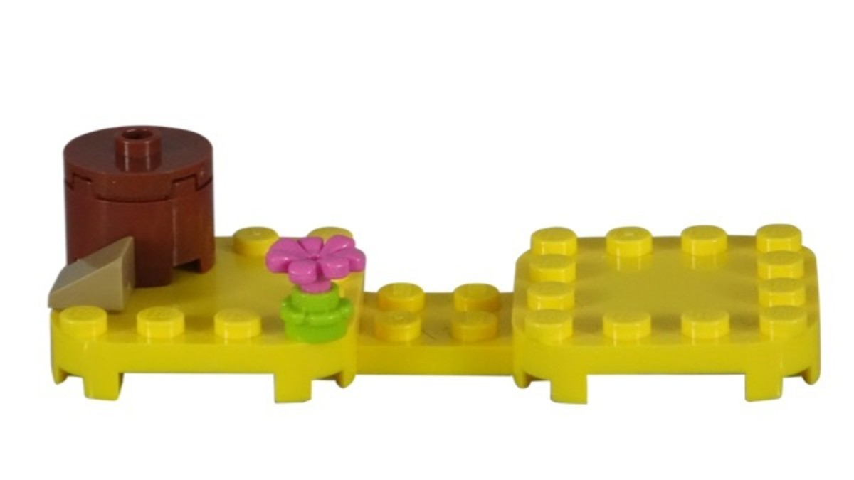 LEGO Super Mario Propeller Mario Power-Up Pack 71371 Display Stand