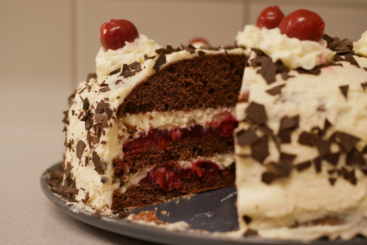 Moist and Fluffy Black Forest Cake Recipe
