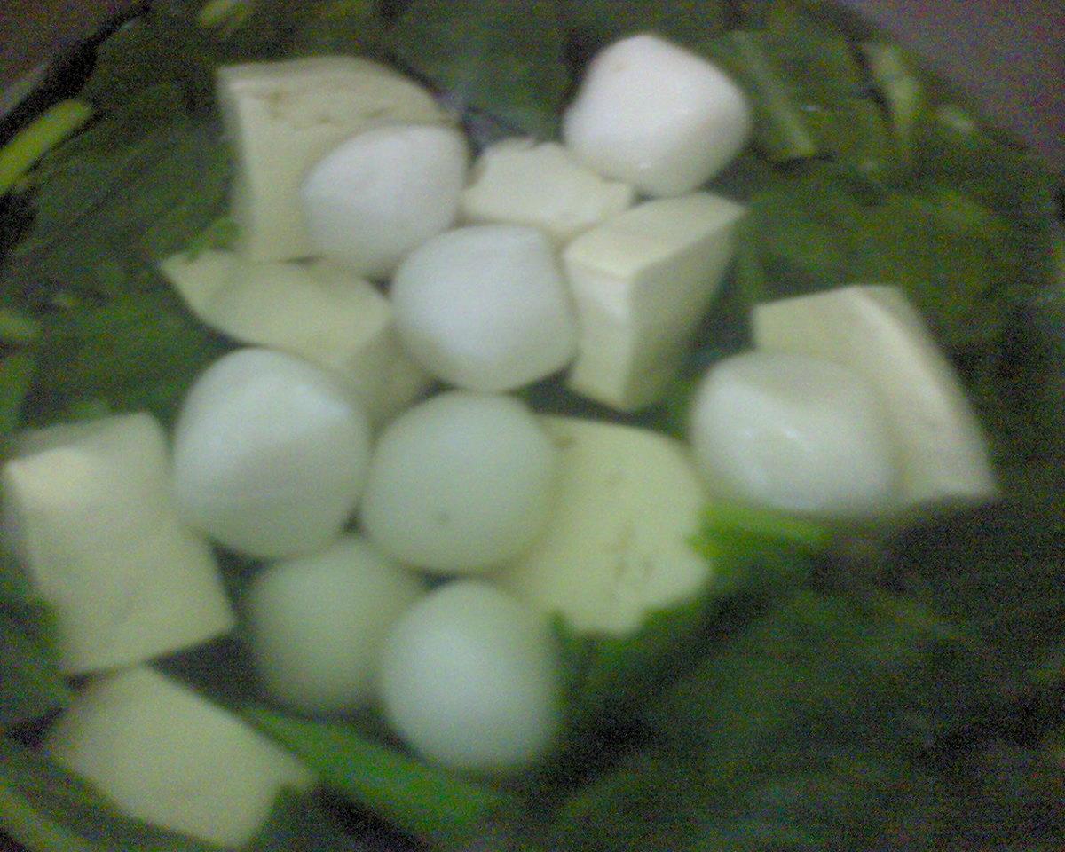 Wonderful Cai xin Soup with tofu