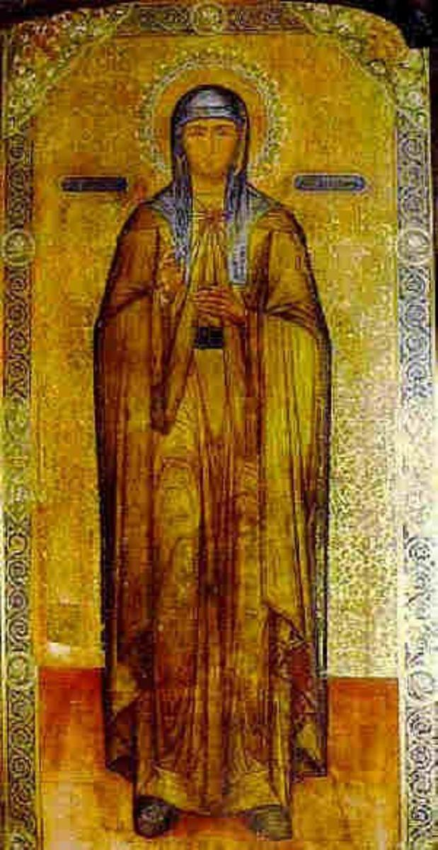 St Petka of the city of Tarnovo.