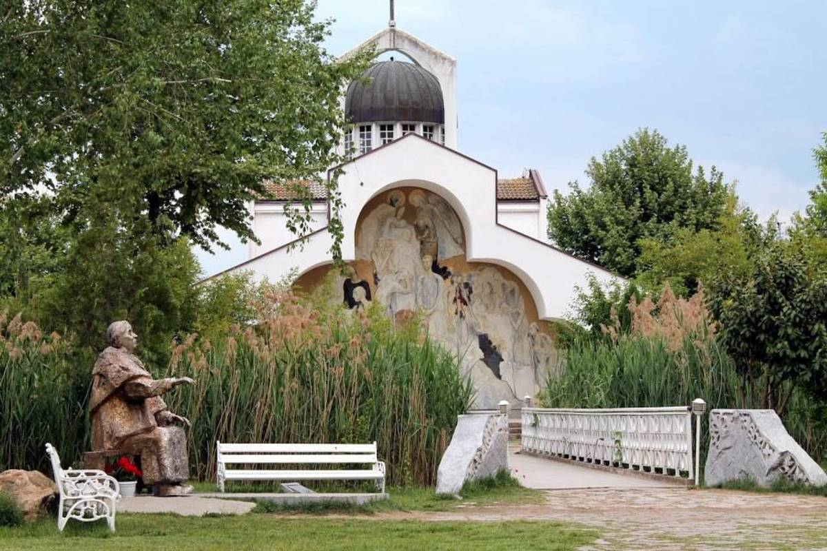 St Petka church, built by Baba Vanga, the Bulgarian clairvoyant from Petrich.