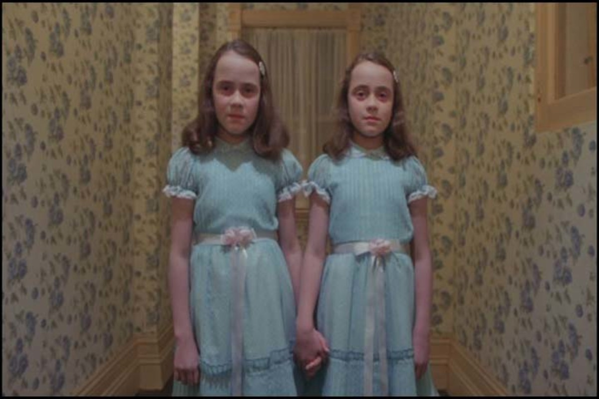 Freaky as Hell - The Twins from The Shining Scare the S**t Out of Me