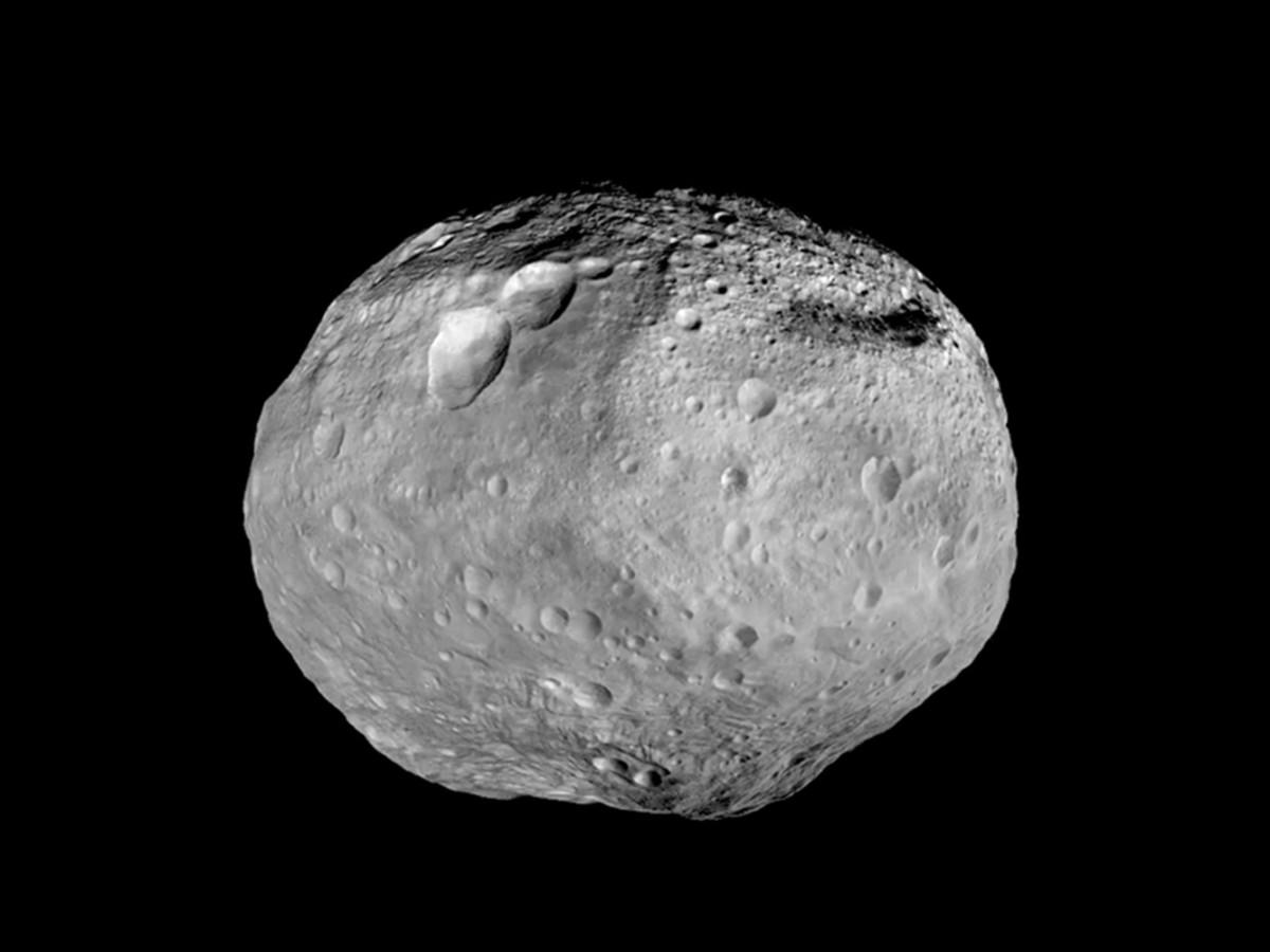 Full image of asteroid Vesta taken by NASA's Dawn spacecraft
