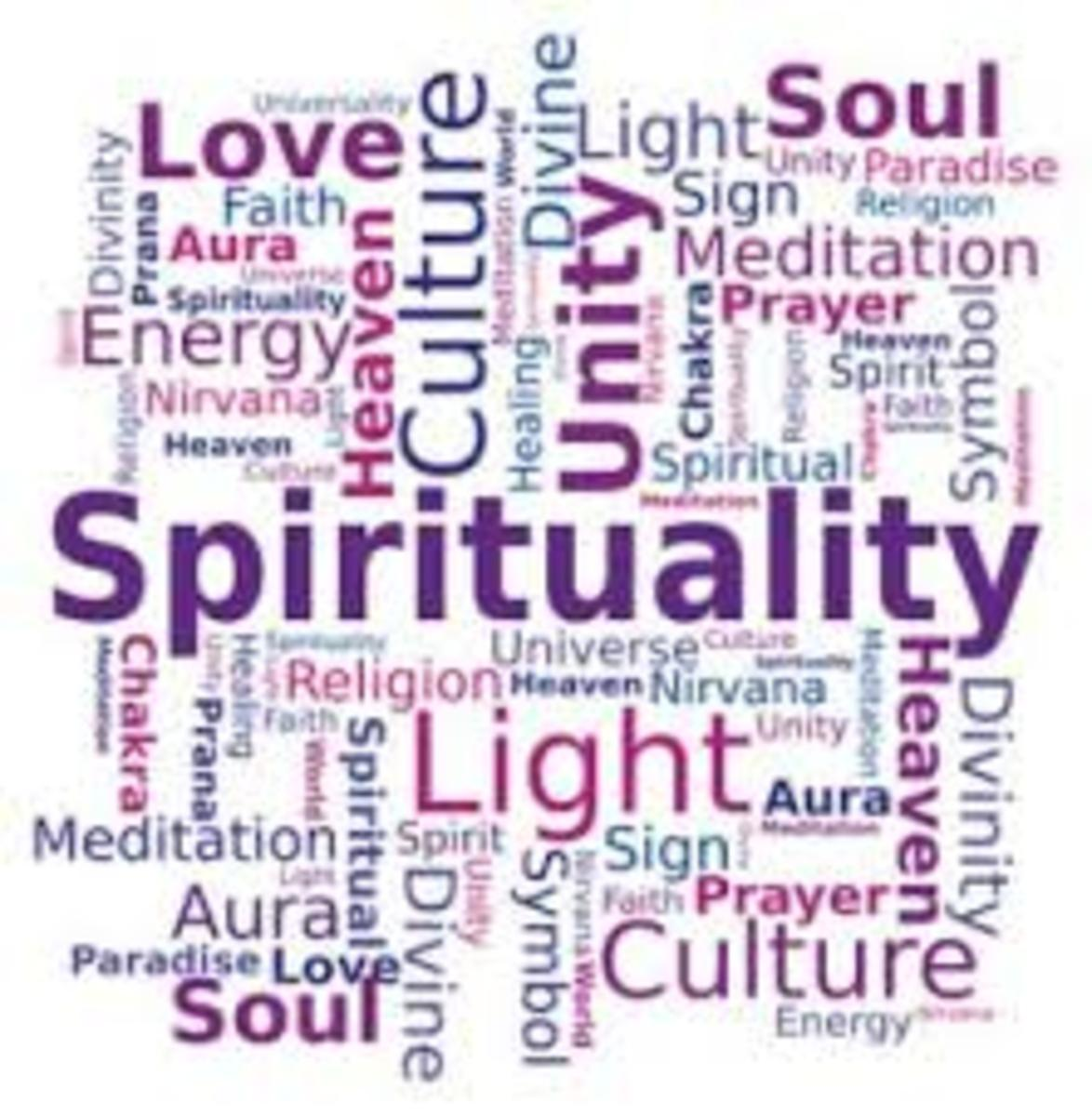 Spirituality is everything spiritual put together, the gods the angels and everything else in the universe including our selves form this spirituality. Spirituality seems to go around, forming a never ending cycle of the life forces of the universe.