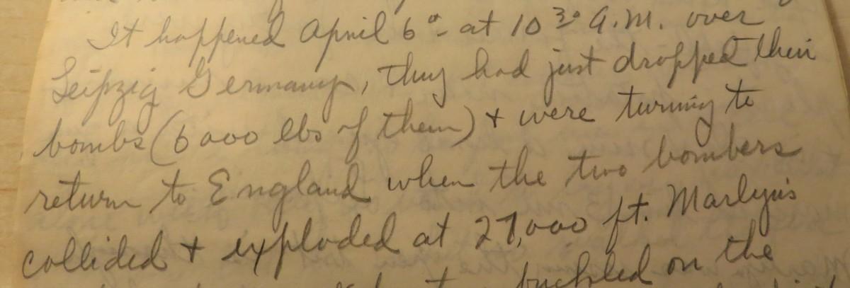 历史-1945-letter-only-Aircrafter-survivor-Exposes-Afnizing-story-from-wwii