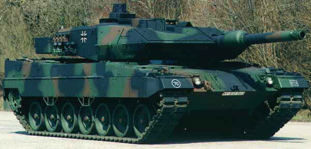 Germany's Leopard Tank 2