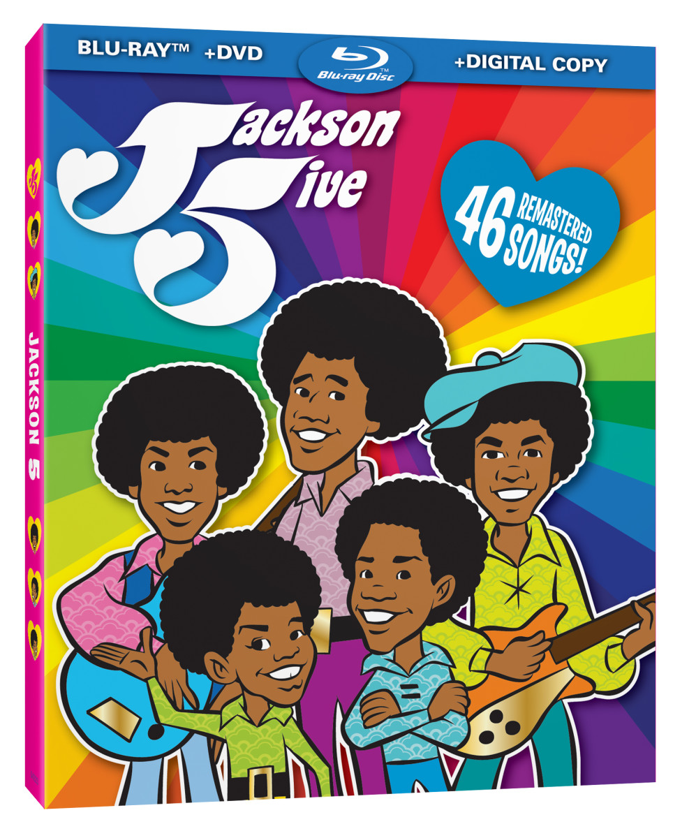 1970's Jackson 5ive cartoon series arrives on Blu-ray and DVD