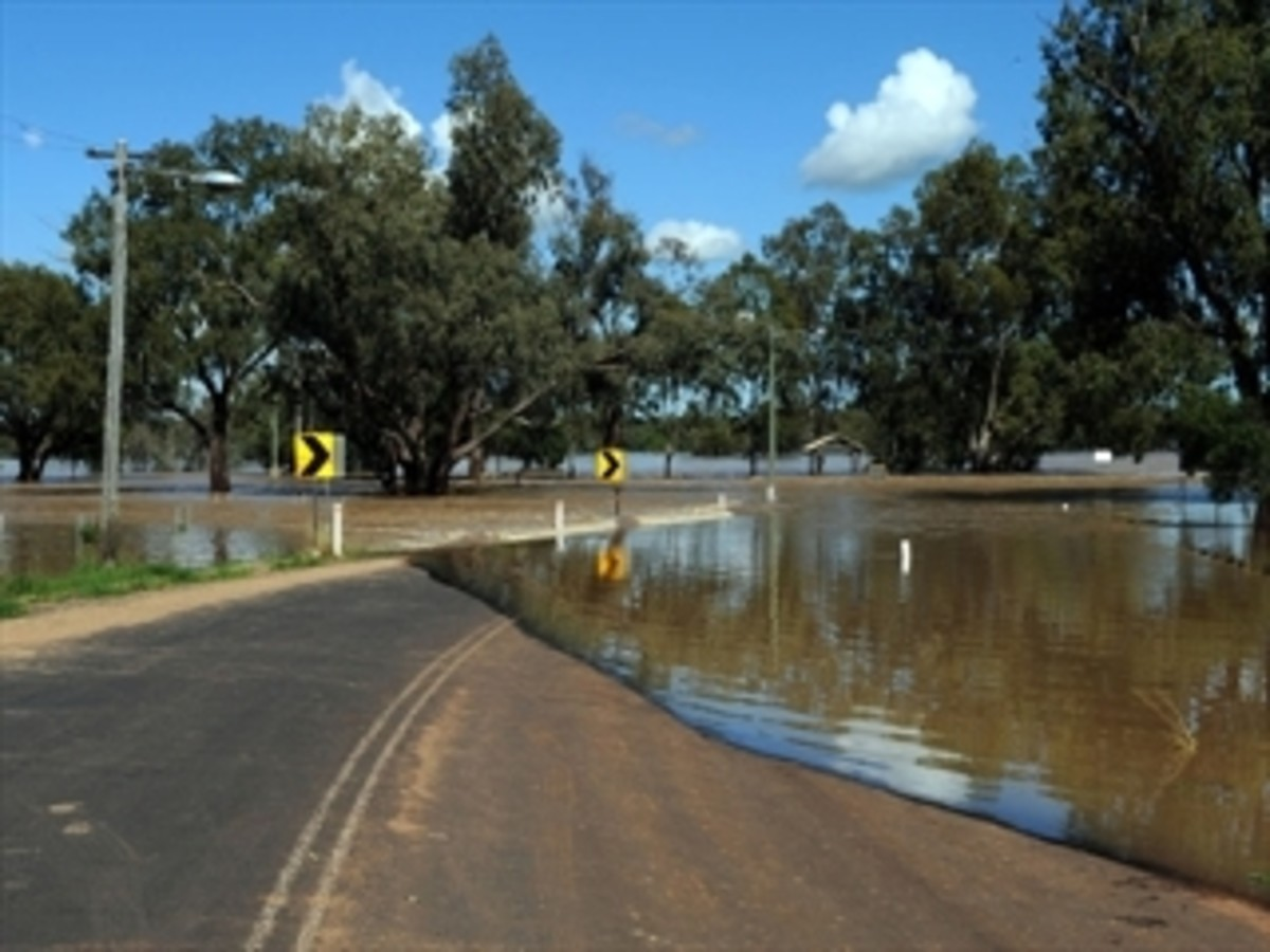 NSW is waiting for more flood to come, it seems so peaceful in this photo, but the worst is still to come.