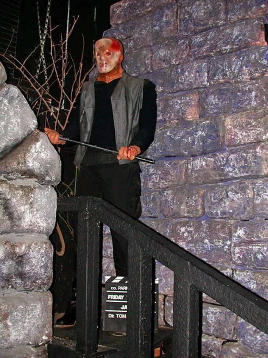 Jason Voorhees Friday the 13th Wax Figure