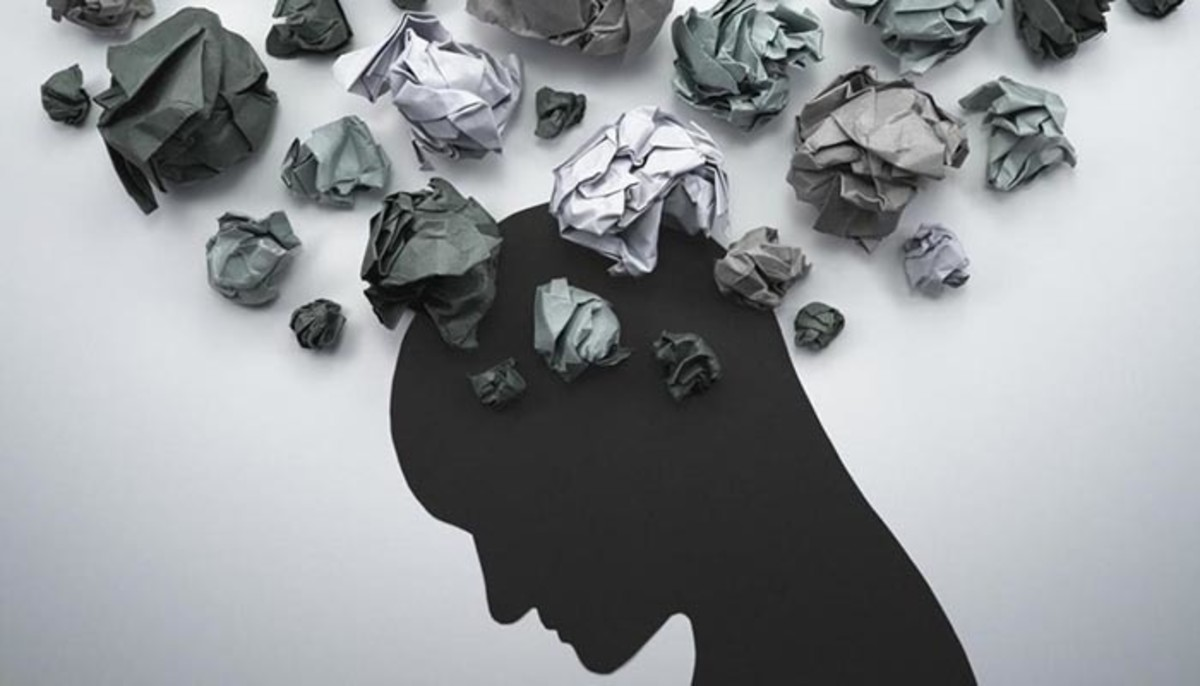 Feelings and Thoughts can look like paper balls or stones in the minds of people who suffer from mental disorders. What is easy becomes complicated. Therefore, listen carefully whenever necessary.