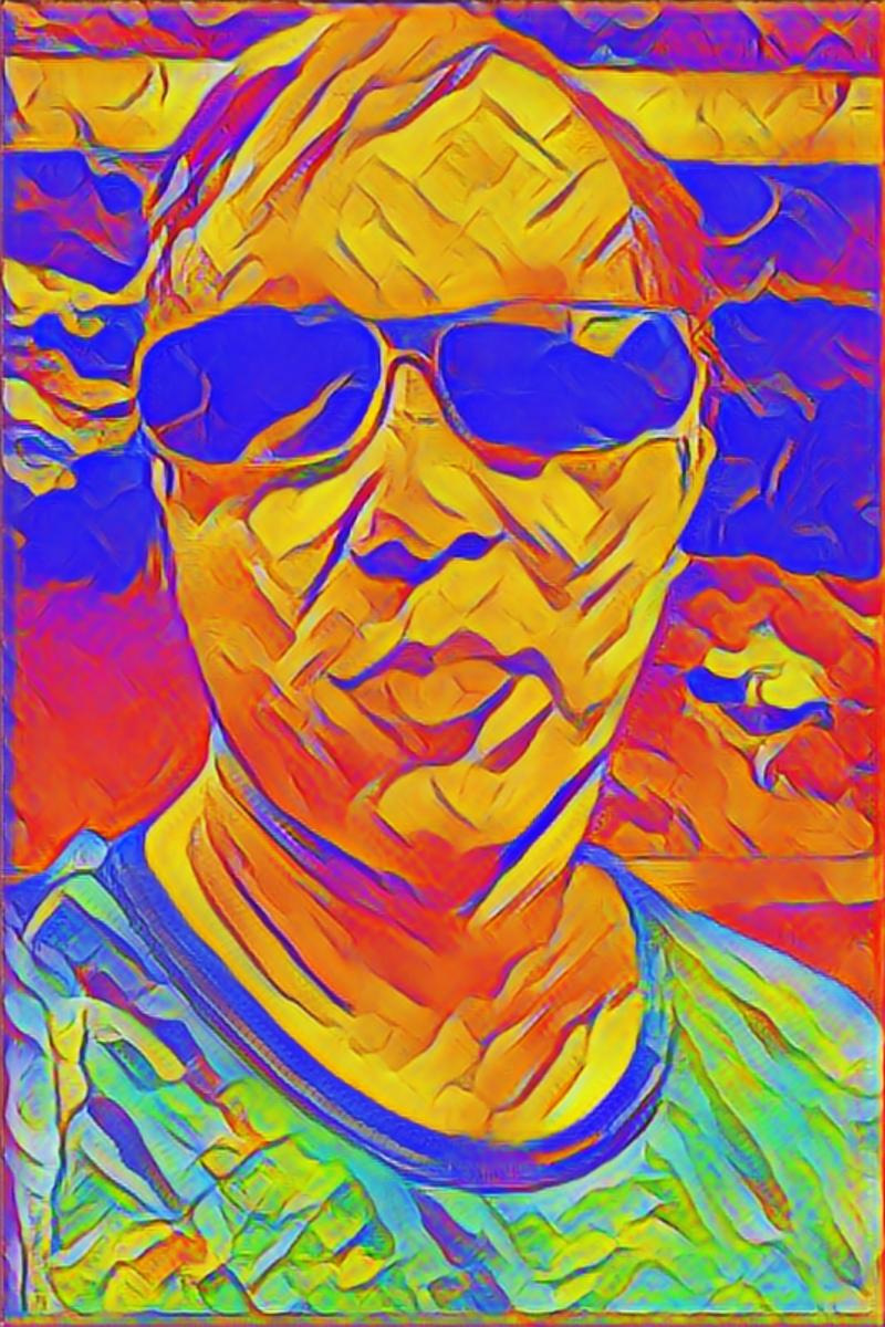 Selfie to AI art.
