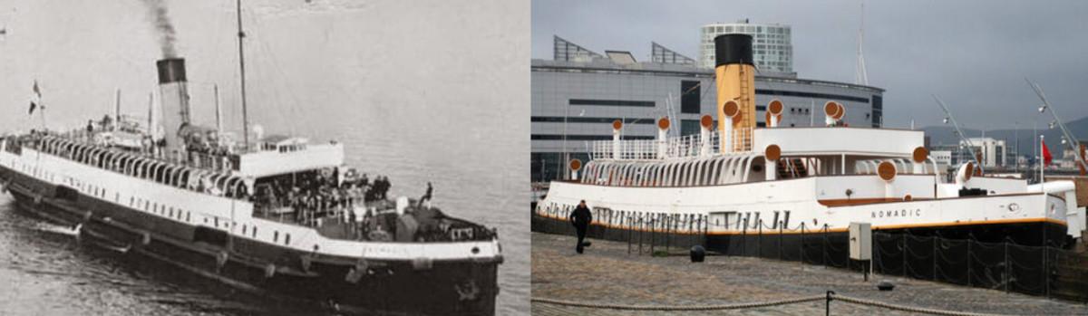 The SS Nomadic - Titanic's Little Sister