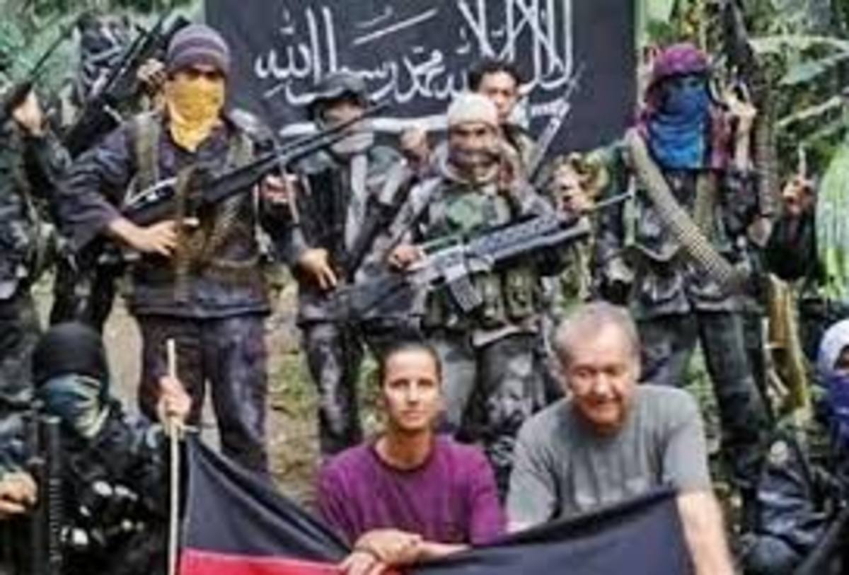 Abu Sayyaf group and hostage