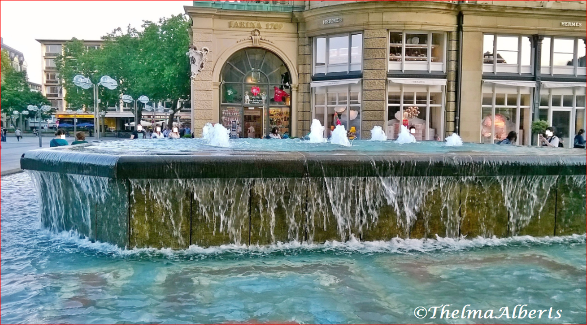 Cologne City Fountain, Germany