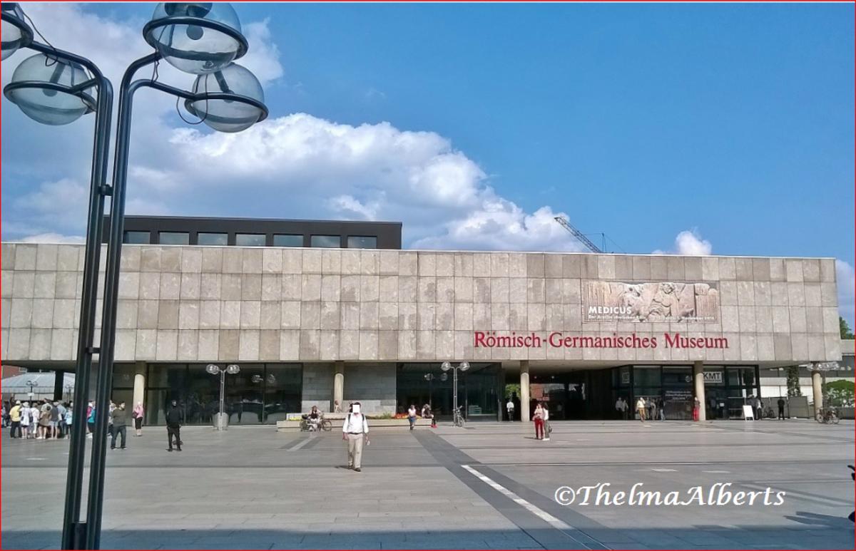Römisch-Germanisches Museum in Cologne, Germany.