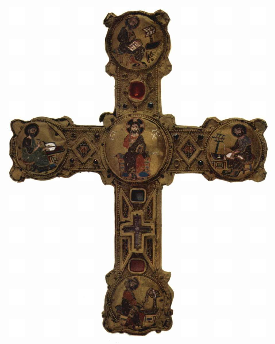 GERMAN CROSS ICON FROM THE 12TH CENTURY