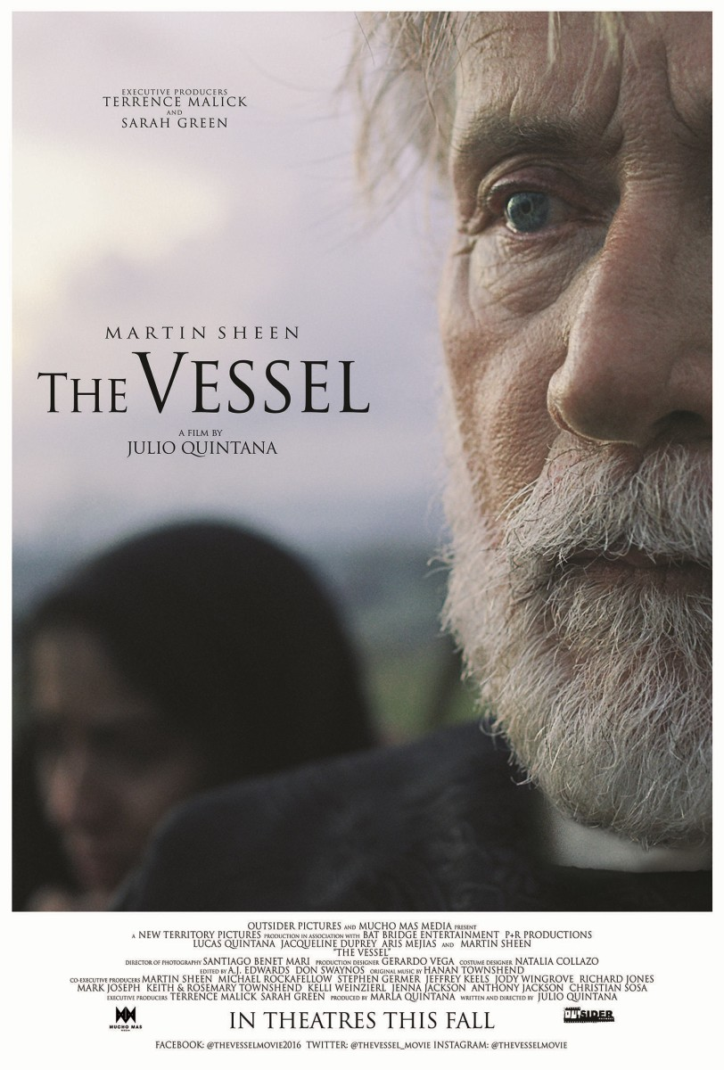 "The official US theatrical poster for ""The Vessel."""