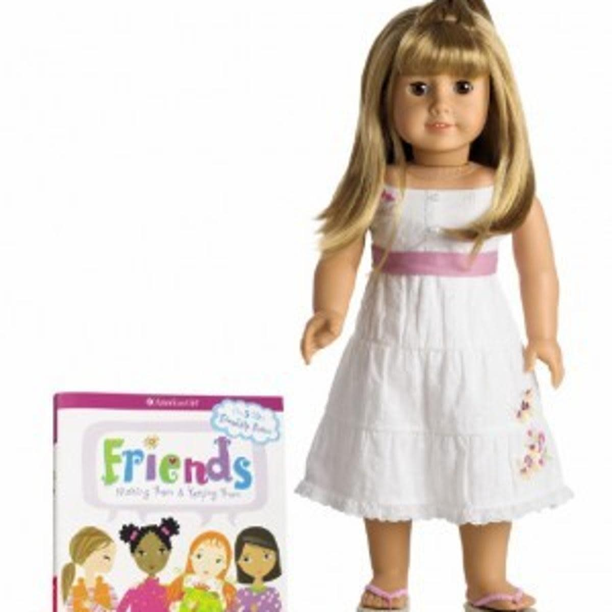 Gwen, one of the companion dolls to Chrissa, the 2009 Girl of the Year