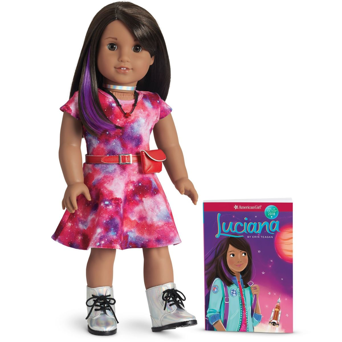 Luciana, the 2018 Girl of the Year