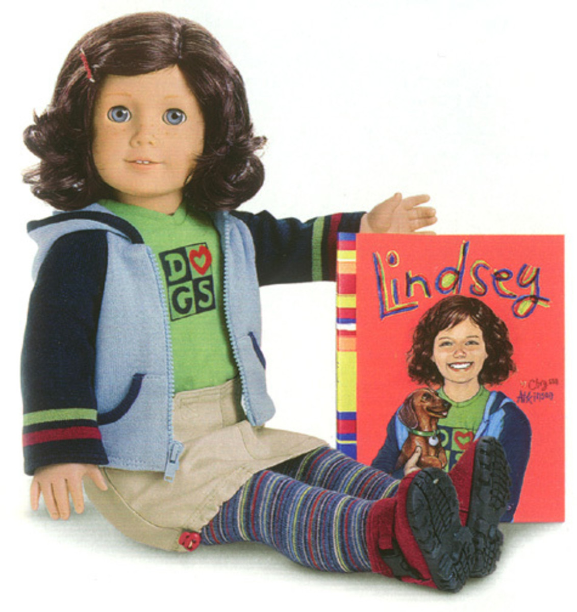 Lindsey, the 2001 Girl of the Year