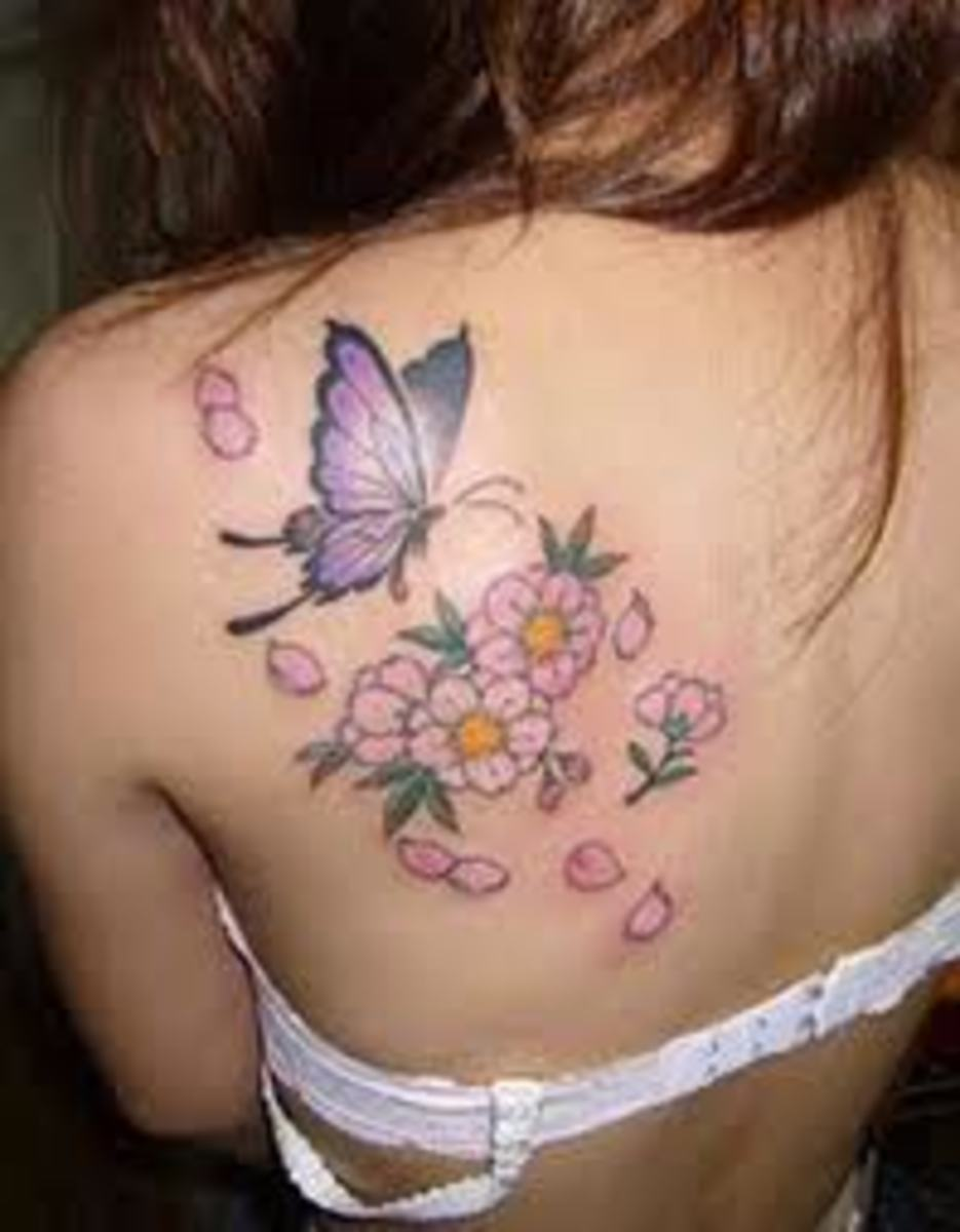 Popular Tattoo Designs For Women: Beautiful Tattoos For Women; Popular Tattoo Symbols For Women