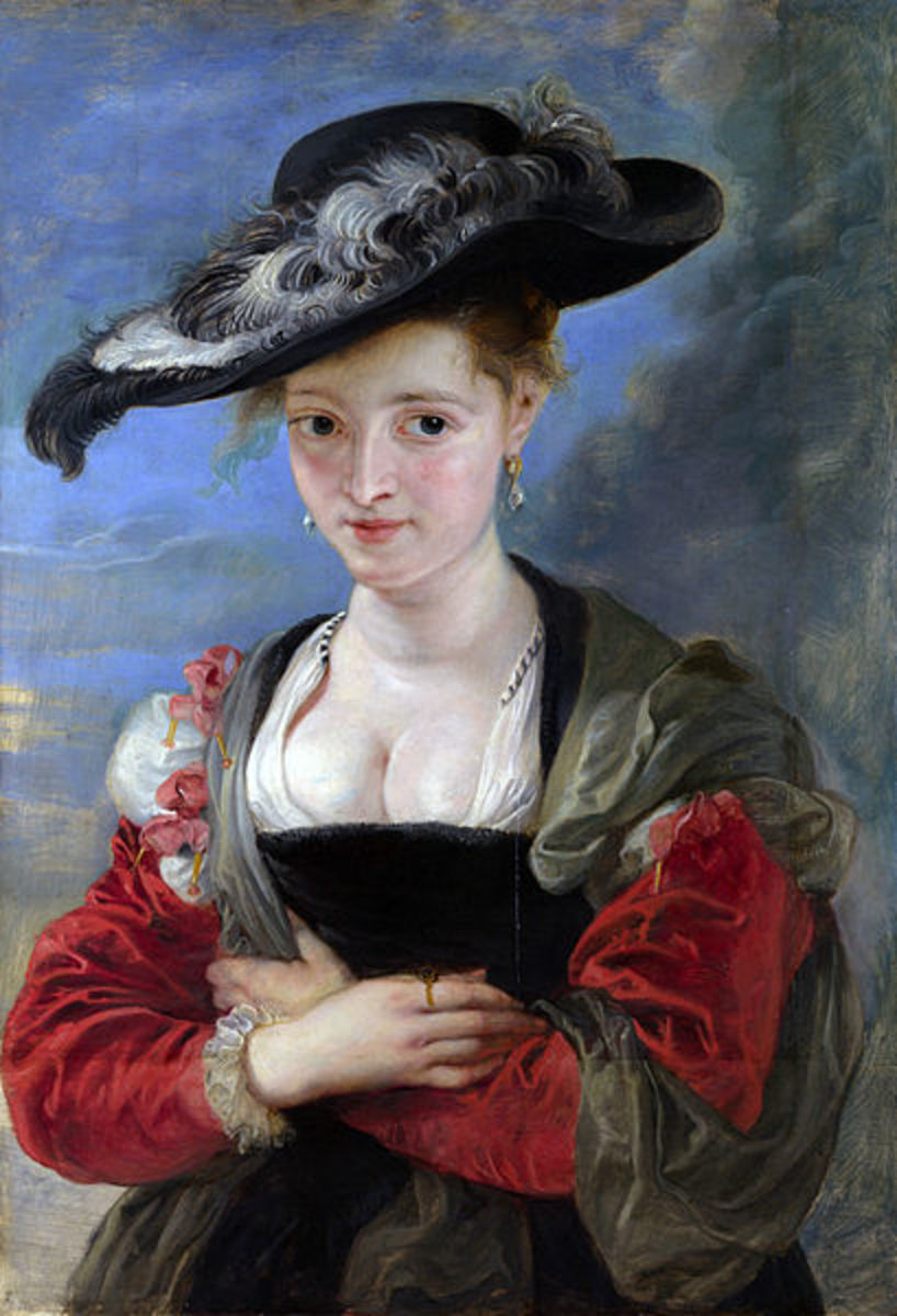 """The Felt Hat"" (1622-1625) by Peter Paul Rubens is in the public domain in the United States and those countries with a copyright term of life of the author plus 100 years or less."