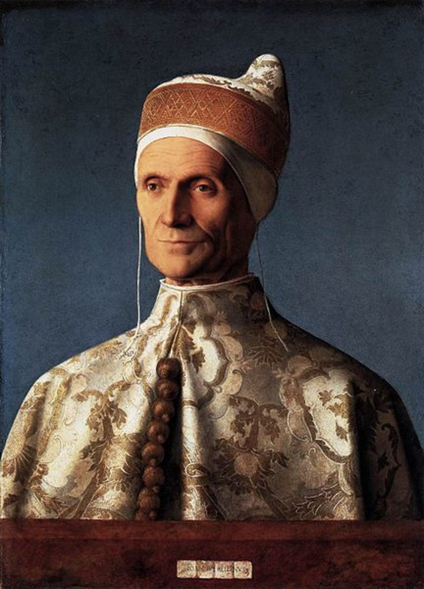 Giovanni Bellini painted this portrait of the Doge Leonardo Loredan in 1501 to 1502.
